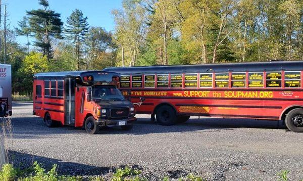 The Soupman Buses