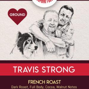 Travis Strong Dark Blend Coffee