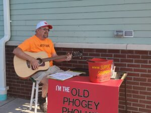 Jack Phaneuf Sings For The Soupman at Seven-11 @ Seven 11