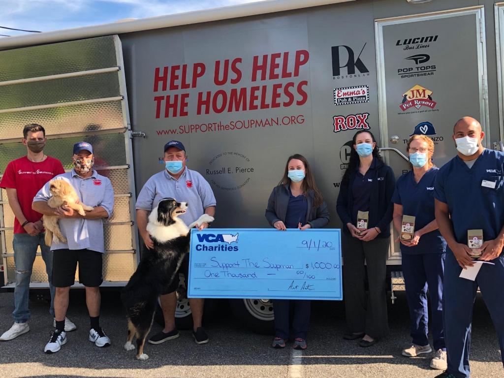 VCA Pet Hospitals Make A Donation