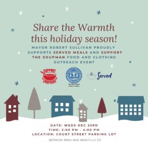 Share the Warmth Tour - Brockton @ Brockton Parking Lot